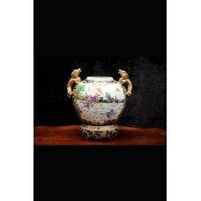 Vintage style ceramic vase