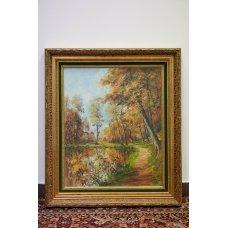 "Original oil painting of Phil Hyde ""Autumn"""