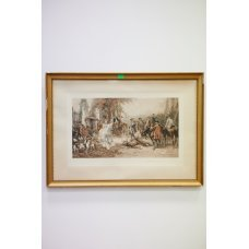 Lithography, hunting