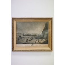 """Lithography """"Bloomsbury square"""""""