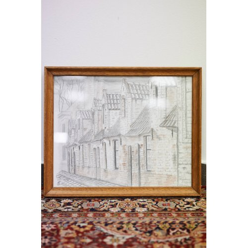 Pencil drawing, Brugges Street