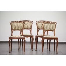 Antique Art Nouveau chairs