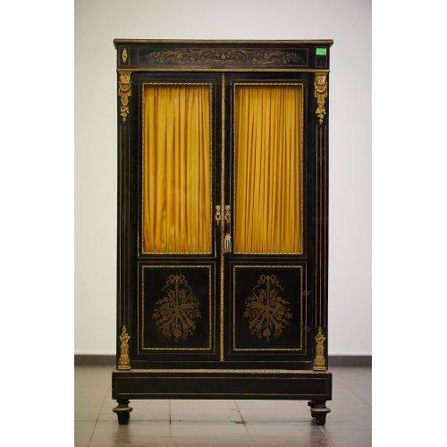 Antique showcase in the style of Napoleon III