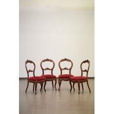 Antique chair set (4 pcs)
