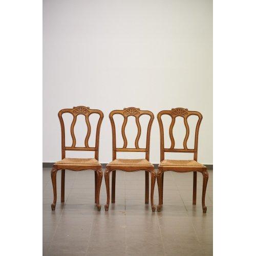 Antique chair set (3 pcs)