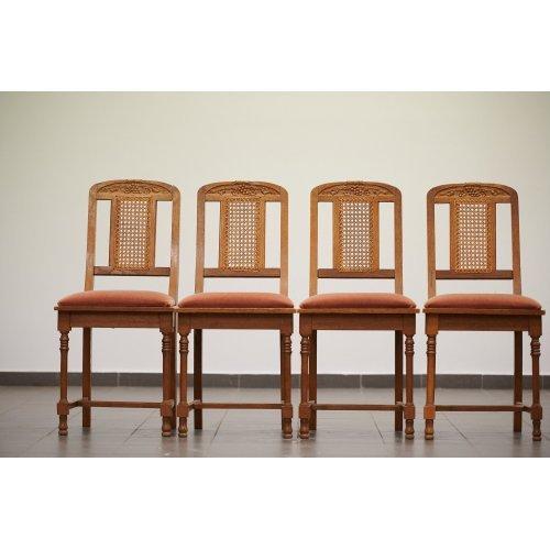 Antique chair set (2 pcs)