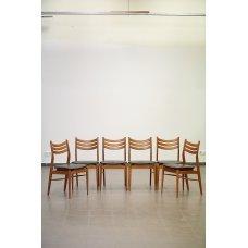 Art-Deco, mahogany chairs