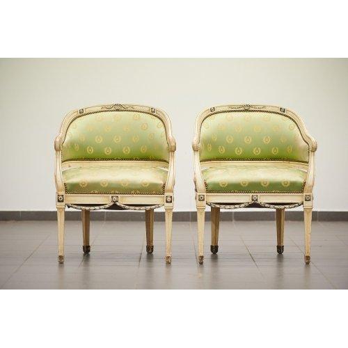 Antique armchairs 2pcs