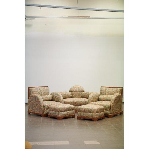 Art-Deco style lounge set