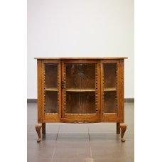 Oak bar cabinet