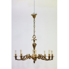 Antique chandelier in the style of Louis XV
