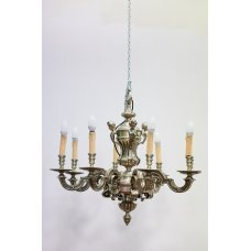 Vintage chandelier in the Rococo style