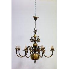 Empire style bronze chandelier