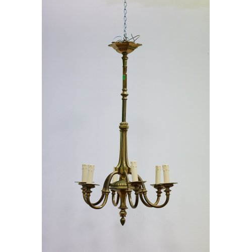 Antique bronze chandelier