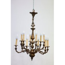 Antique chandelier of Empire style