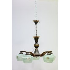 Art-Deco style chandelier