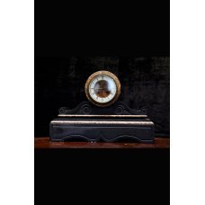Mantle clock, marble, stone