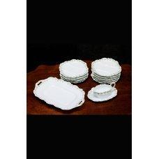 Porcelain dishes F-Frognet