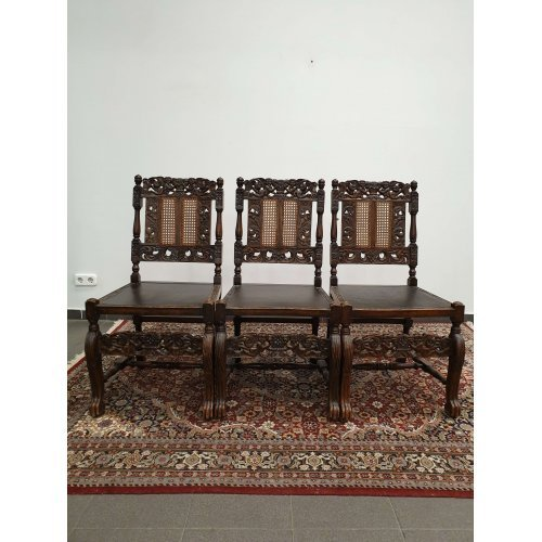 Antique mahogany chairs