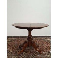 Antique mahogany and walnut console / table