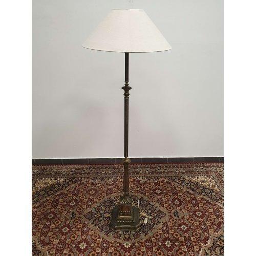 Vintage style floor lamp from painted metal