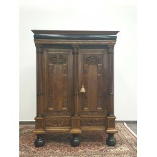 Oak cabinet with beautiful carvings