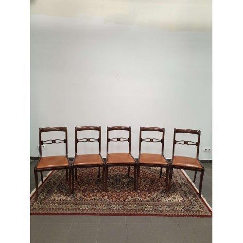 Elegant mahogany chairs