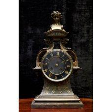 Beautiful 19th century Austrian spelter clock