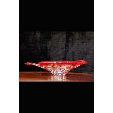 Beautiful Italian Venetian Murano glass dish bowl